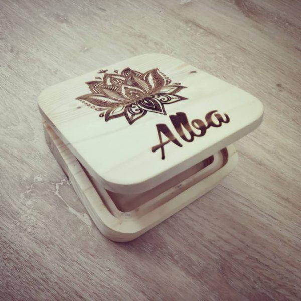 cajas de madera para regalo