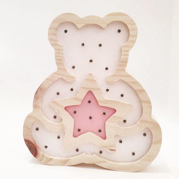 Lamparas de madera personalizadas