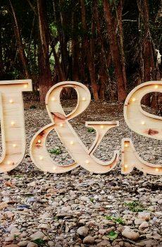 Letra boda
