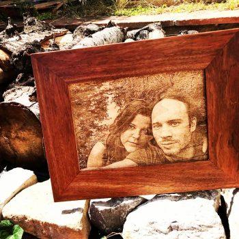 Foto en madera